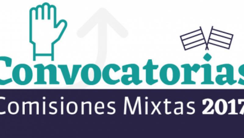 Convocatorias Comisiones Mixtas 2017